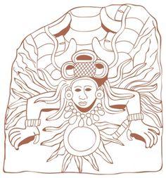 Feathered- Serpent- Aztec- Tattoo- Design