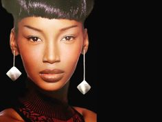 Asymmetrical Sterling Silver Designer Earrings. Drop earrings. Dangle earrings. Large statement earrings Statement Earrings, Dangle Earrings, Crochet Earrings, Hanging Necklaces, Earrings Photo, Wide Rings, Designer Earrings, Silver Jewelry, Dangles