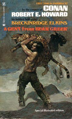 A Gent from Bear Creek - Robert E. Howard, cover by Jeff Jones