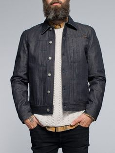 Sonny Organic Dry Clean Selv Denim - Nudie Jeans Online Shop