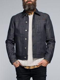 Sonny Organic Dry Clean Selv Denim - Nudie Jeans