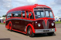 AEC, REGAL III, 1950 Thomas Harrington Ltd FC33F, full cab with tail fin.  http://www.fredandroxanne.com