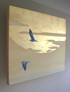 Artwork, Mirror Artwork, Lightwork and Photography by James Mousley Gold Leaf Art, Gold Art, Mirror Artwork, Mirrors, Painted Leaves, Painting Inspiration, Modern Art, Modern Design, Art Drawings