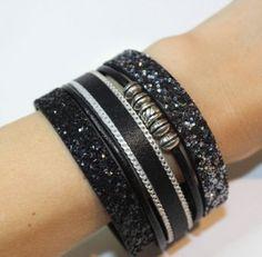 bracelet cuir manchette DIY fiche créative tuto savoir et créer caen
