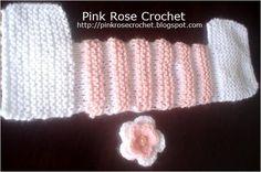 Olha que lindoeste modelo de Sapatinho de Tricô para Meninas, que achei no http://pinkrosecrochet.blogspot.com.br  Super fácil e rápido...