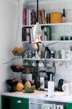Noen som har en anelse om hvor denne lampen kommer fra? Jeg har forelsket meg helt... ;-)