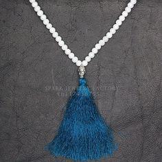 Bohemian Boho Statement Glass Beads Necklace Collares Collier Colar Jewelry Maxi Joyeria Long Tassel Buddha Charm Handmade