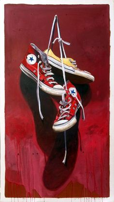 "Santiago Garcia, ""#533"", 59 x 33, Oil & Acrylic on Canvas | Eisenhauer Gallery of Edgartown, MA"