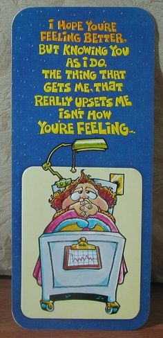 MARK 1 Inc. 1970's Vintage Greeting Card Style 155Z Get Well Soon   1.8P723B481217JUNK0298   http://ajunkeeshoppe.blogspot.com/