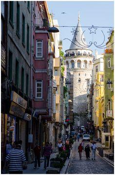 Istanbul, la torre Galata-Turkey