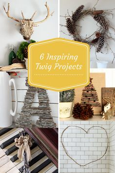 How to Make DIY Twig Letters   The Happy Housie