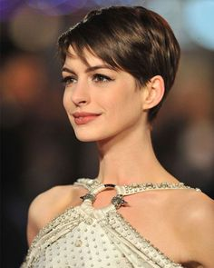 Short Pixie Celebrity Haircuts 2016