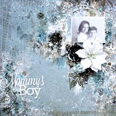 Blue Fern Studios: 'Mommy's Boy' by Lisa Griffith