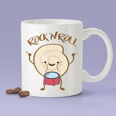 Rock 'N Roll  Funny  Coffee Mug