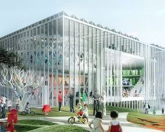 MVRDV and ADEPT: house of culture and movement, denmark