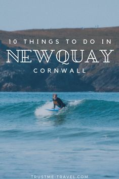 Looking for an escape from London this summer? Cornwall is the perfect weekend getaway. Read on for things to do in Newquay, our favorite Cornish town. Newquay Surf, Cornwall England, Yorkshire England, Yorkshire Dales, Oxford England, London England, Uk Culture, Stuff To Do, Things To Do