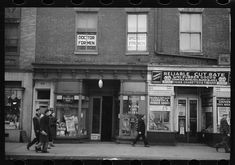 Baltimore street, Baltimore, Maryland. 1939 Apr. Library of Congress.