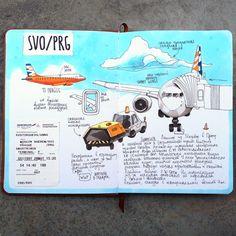 Airport SVO/PRG by anna.rastorgueva