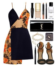 """""""Biscayne Park"""" by sophiehackett ❤ liked on Polyvore featuring MSGM, Black, Dolce&Gabbana, NARS Cosmetics, Yves Saint Laurent, Bobbi Brown Cosmetics, Bourjois, Givenchy, Kate Spade and Meira T"""