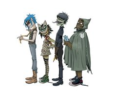 Gorillaz are back together 2014 Potential New Album in 2016 Can't wait