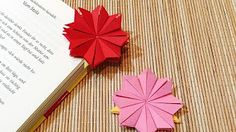 DIY Easy Origami Corner Bookmark - YouTube