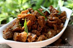Nepali Style Chicken Gizzard... Gizzard, my favorite chicken piece!