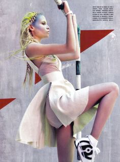 Natasha Poly in Vogue Italia March 2010 11
