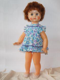 Большая кукла Марина, фабрика им. 8 Марта, СССР, 70 см