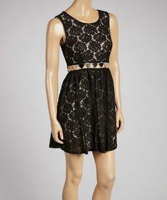 Another great find on #zulily! Black Heirloom Dress #zulilyfinds