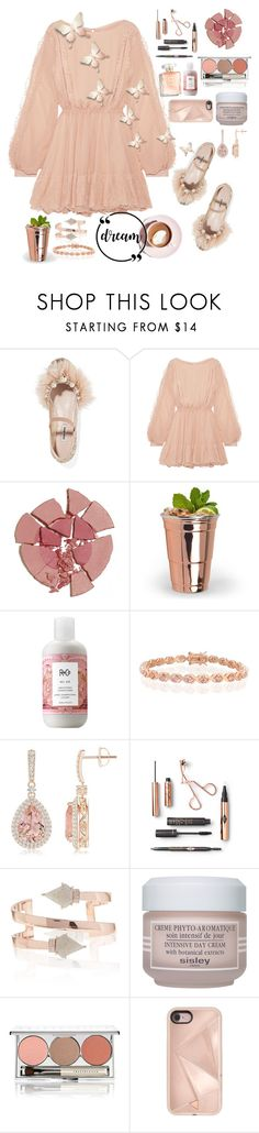 """""""Old Fashion is the New"""" by herestoteenagememories ❤ liked on Polyvore featuring Miu Miu, LoveShackFancy, Charlotte Tilbury, R+Co, Bling Jewelry, Sisley, Chantecaille, Rebecca Minkoff and Martha Stewart"""