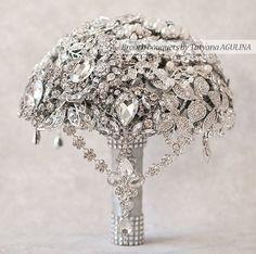 Matrimonio Bouquet spilla Bouquet Bouquet da sposa bouquet