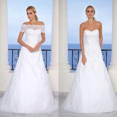 1 trouwjurk met 2 opties Ladybird 45024