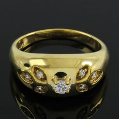 18Kt Gold Over 1.07ct Round Cut VVS Diamond Channel Set Leaf Engement Ring E167 #LeafEngementRing