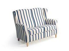Max Winzer Lorris Sofa 2-Sitzer - Farbe: blau - Maße: 139 cm x 86 cm x 103 cm; 2900-2100-2077808-F01 Sofas, Desi, Max Winzer, Modern, Love Seat, Armchair, Couch, Beige, Furniture