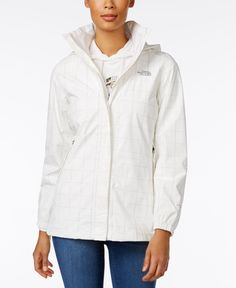 The North Face Resolve Mesh-Lined Hooded Raincoat
