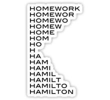Hamilton stickers featuring millions of original designs created by independent artists. Decorate your laptops, water bottles, notebooks and windows. Cute Laptop Stickers, Love Stickers, Diy Stickers, Theatre Nerds, Musical Theatre, Theater, Hamilton Stickers, Funny Hamilton, Homemade Stickers