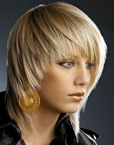A medium blonde straight coloured Multi-Tonal hairstyle by Web Collections