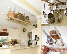 ladder idea for the kitchen