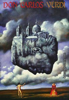 Polish Opera Posters - Author: Olbinski, Rafal