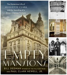 #bookreview of Empty Mansions: The Mysterious Life of Huguette Clark and the Spending of a Great American Fortune by Bill Dedman and Paul Clark Newell, Jr....