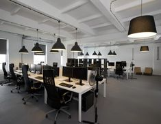 Pride and Glory Interactive's Sleek Krakow Offices - Office Snapshots