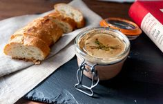 Chicken liver mousse from Julia Childs Art of French Cooking