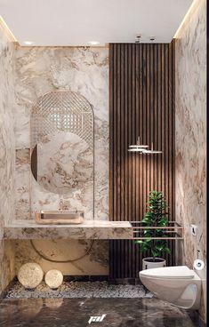 Bathroom on Behance Washroom Design, Toilet Design, Bathroom Design Luxury, Bathroom Layout, Modern Bathroom Design, Bedroom Bed Design, Home Room Design, Home Interior Design, Deco Restaurant