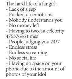 Image result for fangirl problems