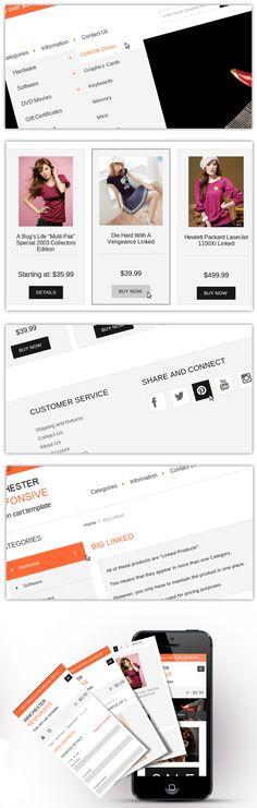 Winchester Responsive - $0.00 : Zen Cart, Zen Cart Templates, Responsive Ecommerce Design