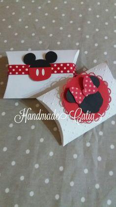 Portaconfetti minnie e mickey mouse