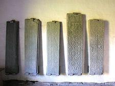 Grave Slabs in St Orran's Chapel