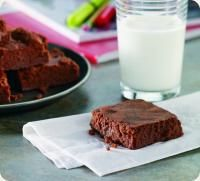 fudgy chocolate yogurt brownies (from stonyfield)