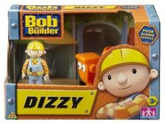 Bob the Builder Push Along Vehicle - Dizzy: Amazon.co.uk: Toys & Games
