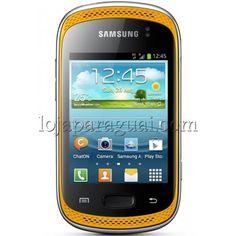 Celular Samsung Galaxy GT-S6012 Wi-Fi 3GGalaxy Music DuosGT-S6012BO seu Galaxy com 2 Chips e muita música2 Chips com Allways On e Hybrid, Android 4.0 com milhares de aplicativos grátis e A melhor experiência de música com duplo alto-falante estéreos de alta potência.   http://lojaparaguai.com/